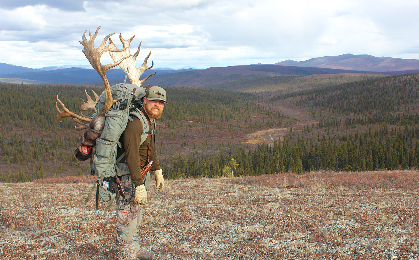 Self-guided caribou hunts