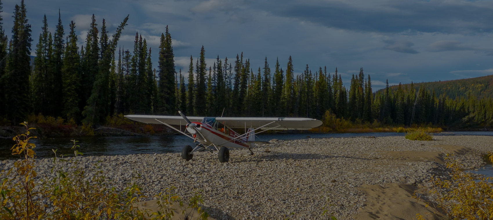 Remote alaska hunts plane