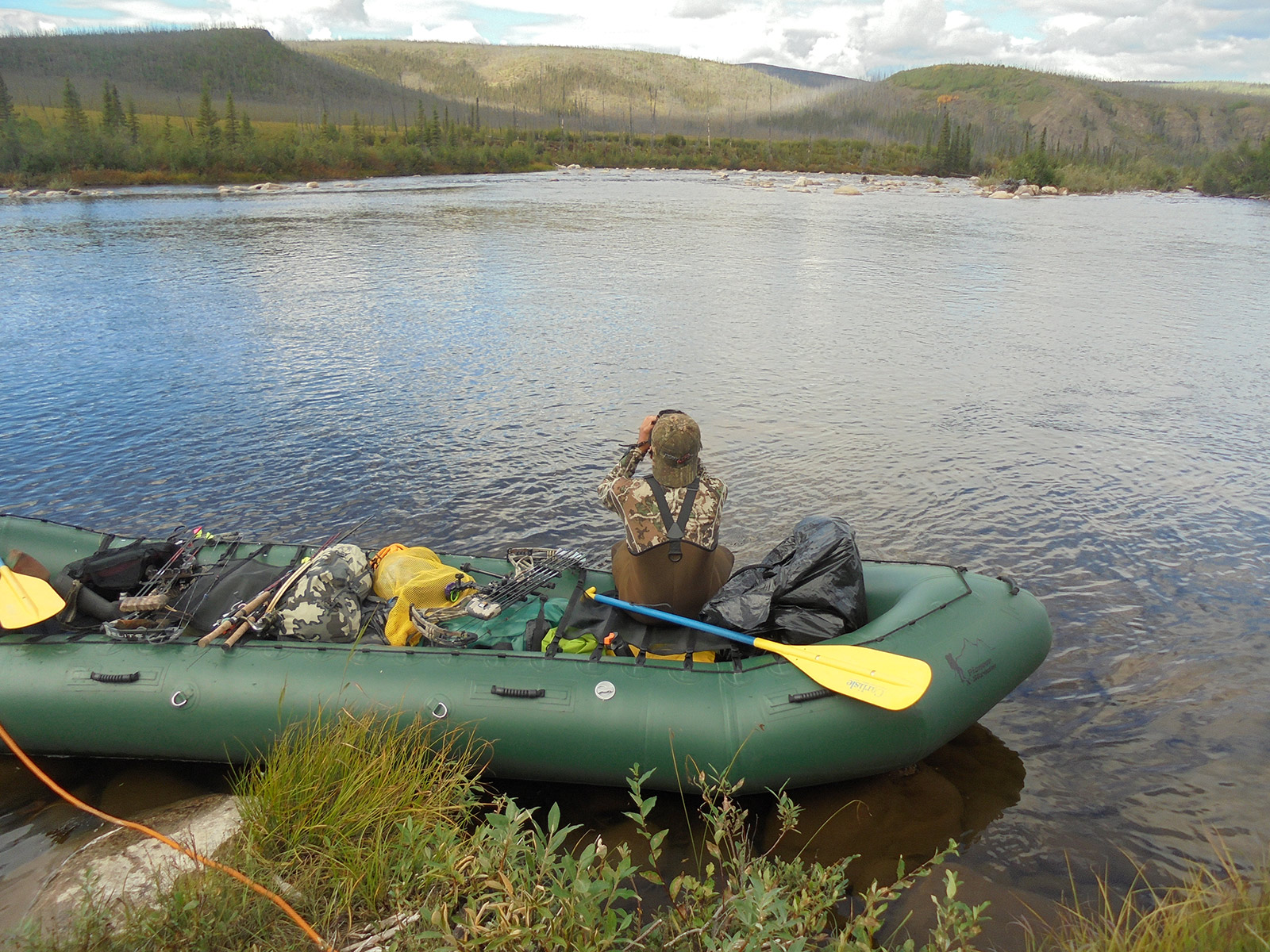 Charley River DIY caribou float hunt