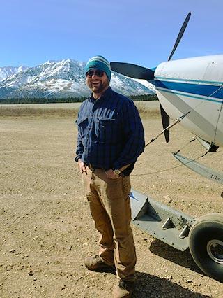 Tok Air Service Pilot, Zack Knabel